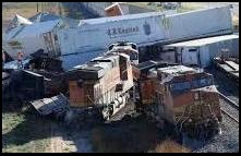 BNSF Wreck