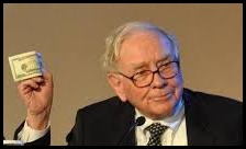 Warren Buffett Waving Money